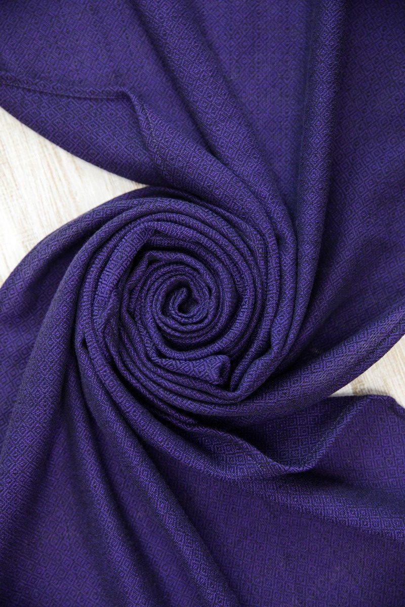 Шарф фиолетовый унисекс