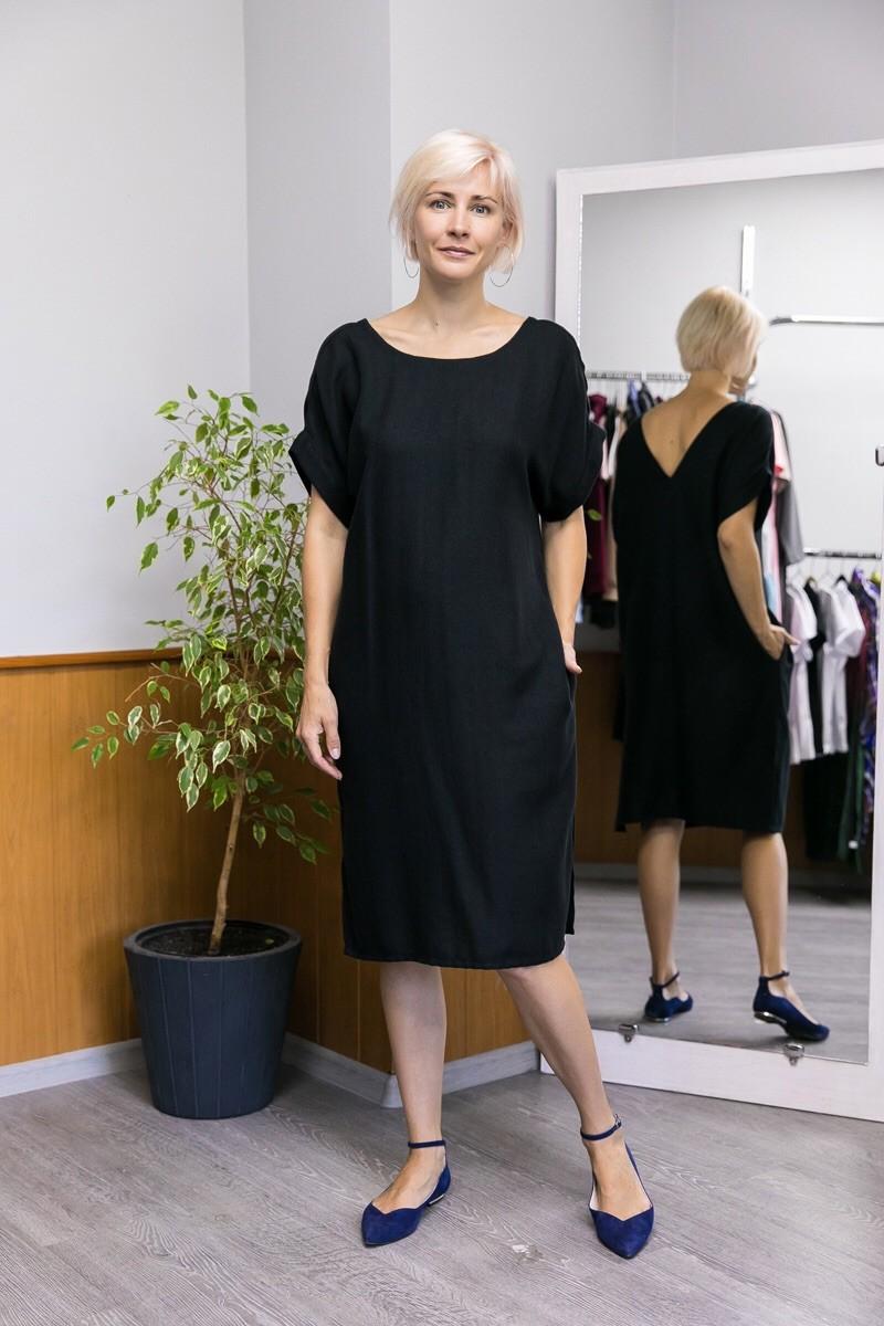 """Платье """"Эдем"""". Чёрное"""