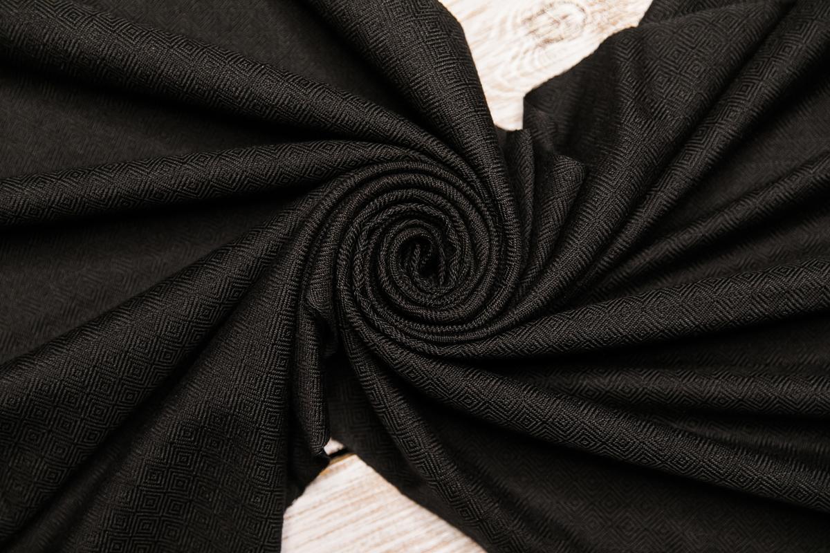 Шарф унисекс. Черный