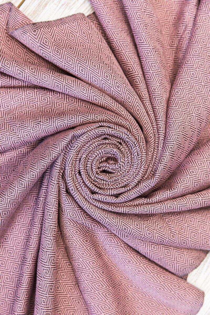 Банная простынка. Розовая