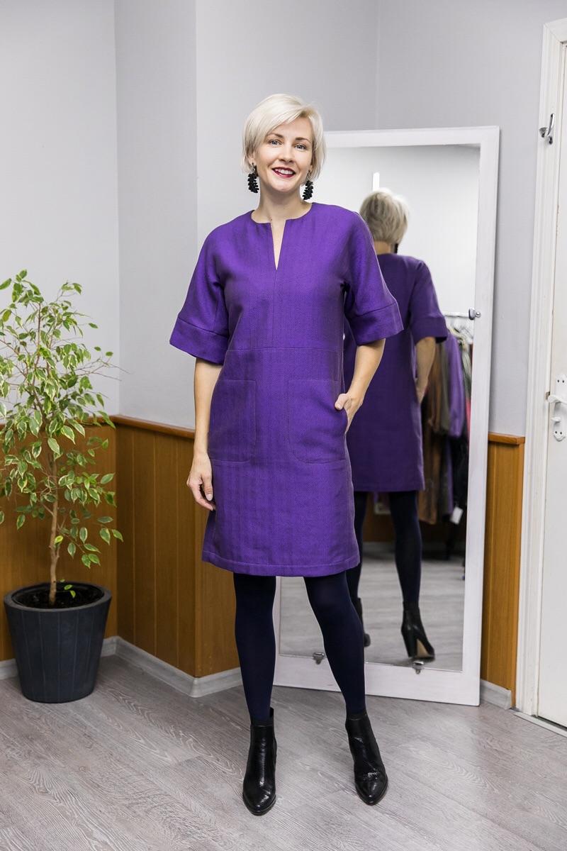 Платье. Фиолетовое